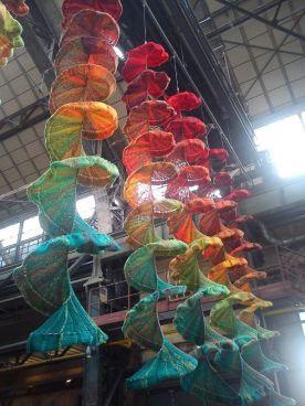 strickrausch (knitting frenzy) at Bochuhm handmade fair, bochuhm, germany, 2012
