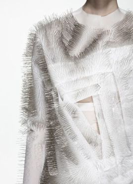 Ying Gao - technology-driven clothing that responds to sounds, voices and human presence