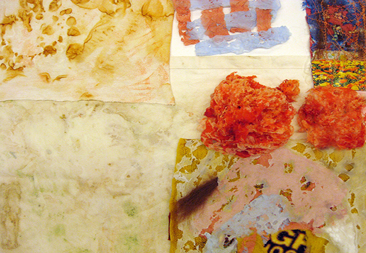 Workshop Highlight: Surface Design & Layers OR Texture & Layers