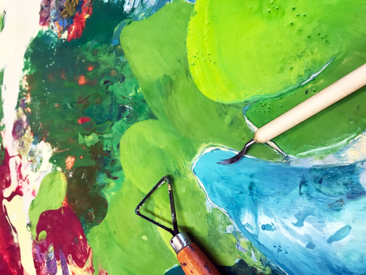 Encaustic PaintSmash: Tips, Composition & Things to ThinkAbout