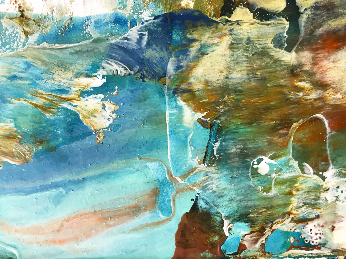 NEW! An Amazing Virtual Encaustic Workshop Experience: Painting With Fire