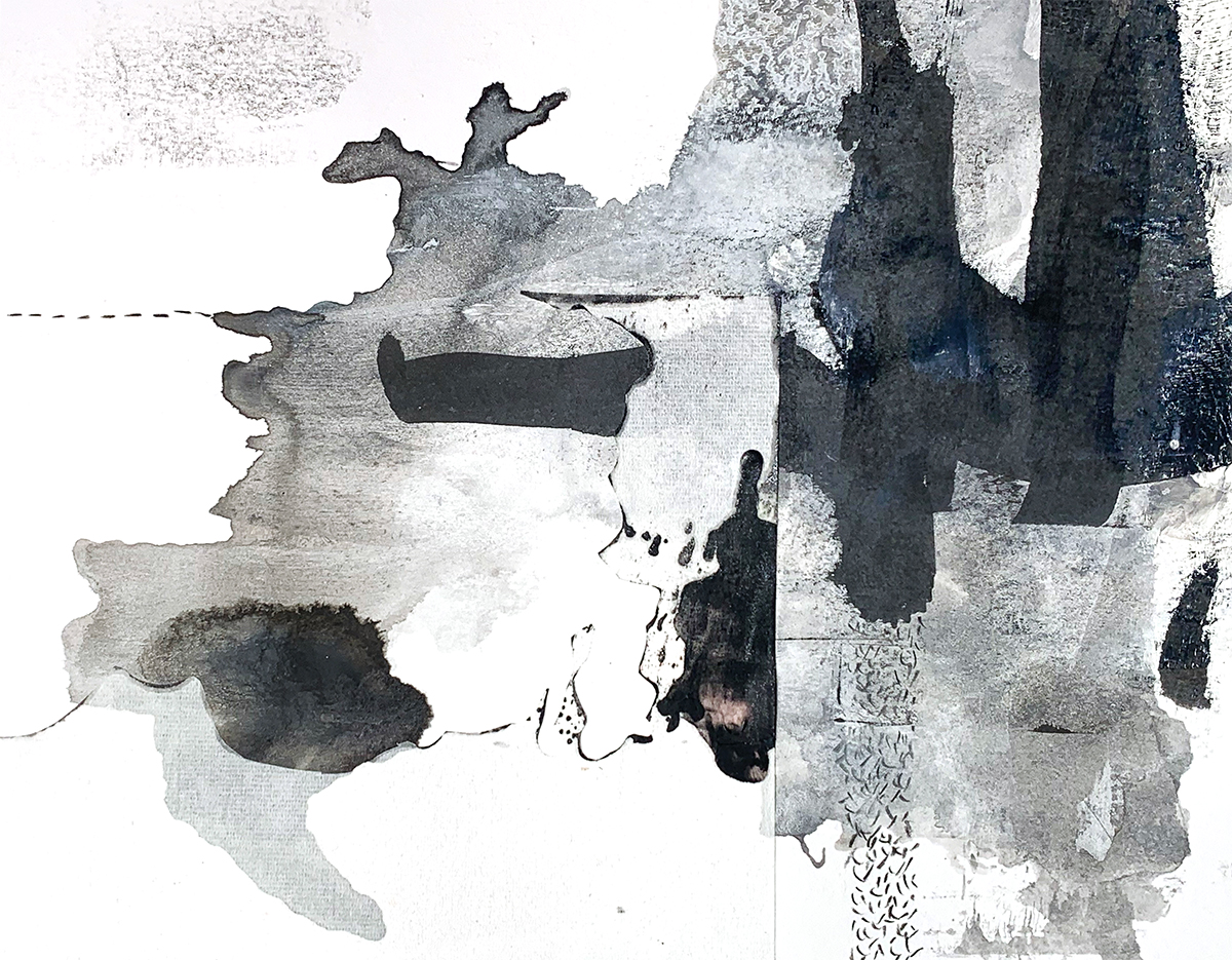 Searching for the Blackest Black: Non Water-Soluble DrawingMaterials